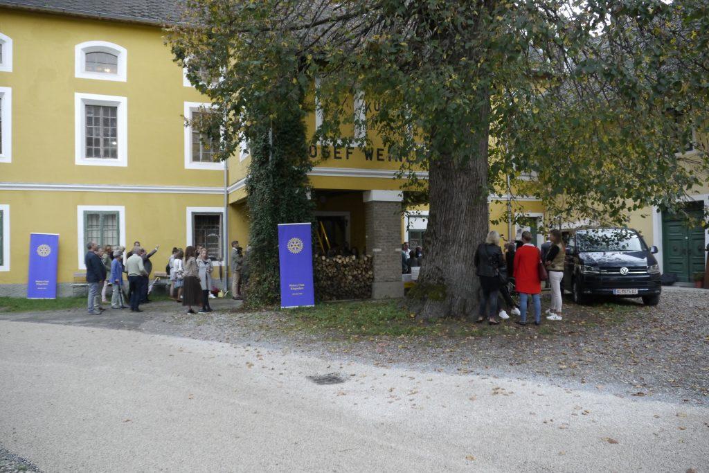 Hof Weinländer-Mühle. Kmetija Weinländer-Mühle.